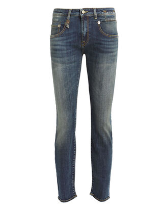 Boy Skinny Stretch Jeans, DENIM-DRK, hi-res