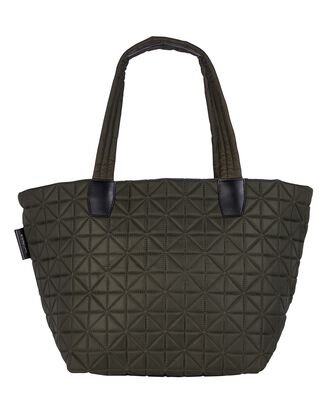 Vee Medium Quilted Tote Bag, OLIVE/ARMY, hi-res