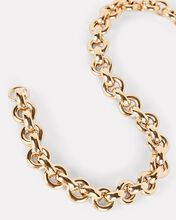 Euclid Circle Chain Necklace, GOLD, hi-res