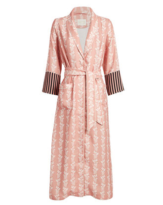 Kia Powder Palm Robe, PINK, hi-res