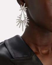 Remington Starburst Earrings, SILVER, hi-res