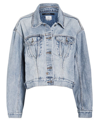 Justify Denim Trucker Jacket, LIGHT WASH DENIM, hi-res