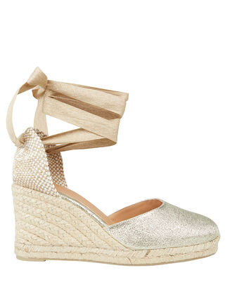 Carina 80 Espadrille Wedges, GOLD, hi-res