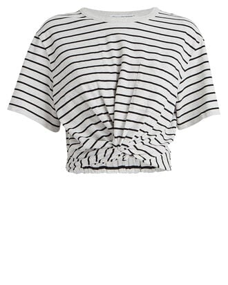 Striped Jersey Twist T-Shirt, MULTI, hi-res