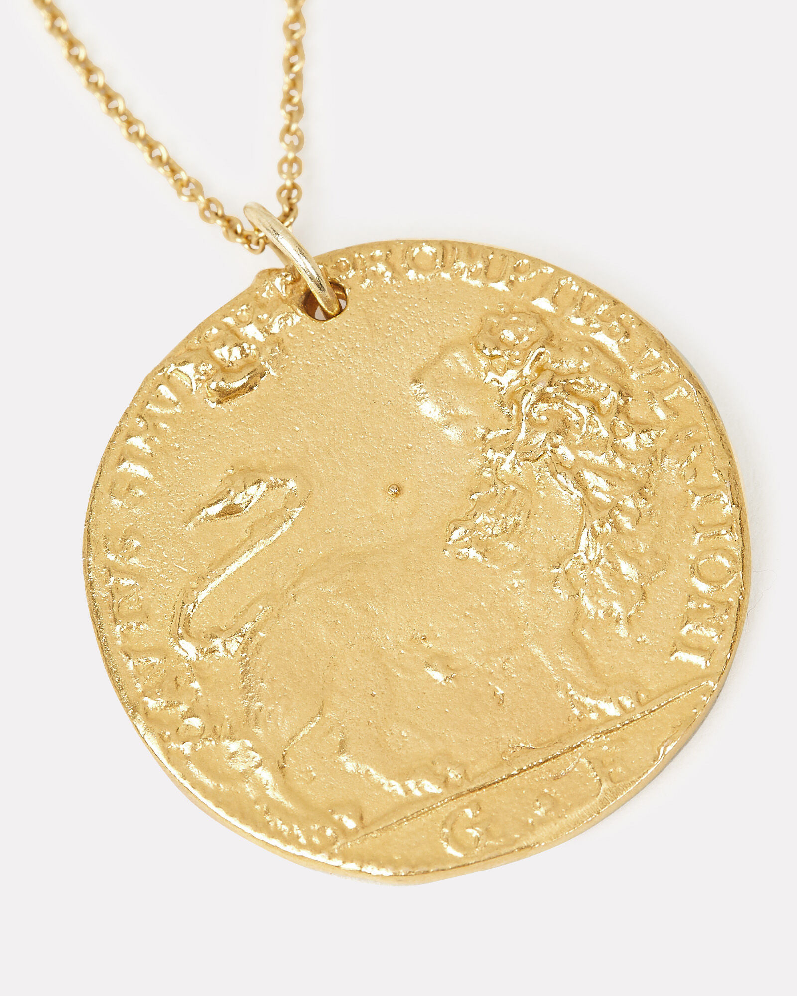 Il Leone Medallion Necklace, GOLD, hi-res