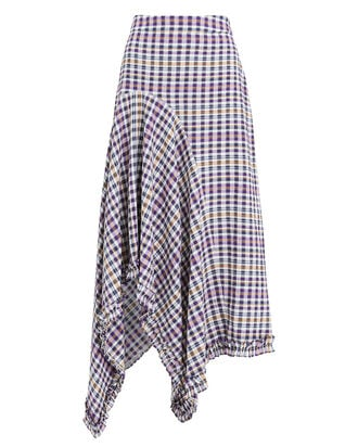 Juliane Midi Skirt, PURPLE/PLAID, hi-res