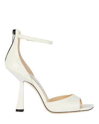 Reon 100 Leather Sandals, IVORY, hi-res