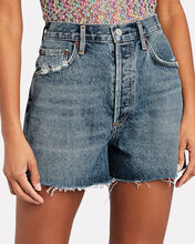 Dee High-Rise Denim Shorts, Precision, hi-res