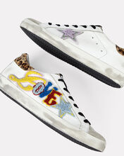 Superstar Low-Top Leather Sneakers, WHITE, hi-res