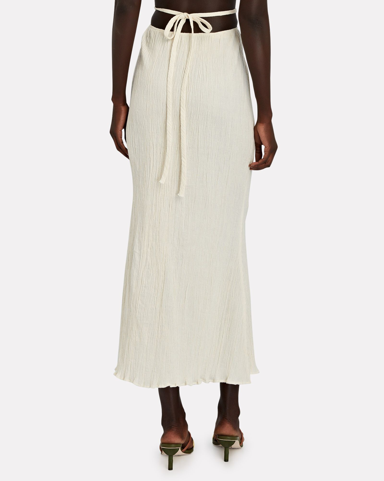 Delilah Convertible Cotton Maxi Skirt, IVORY, hi-res