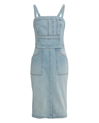The Pocket Hustler Overall Dress, WHEN IN ROME, hi-res