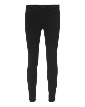 Margot Noir High-Rise Ankle Skinny Jeans, BLACK, hi-res