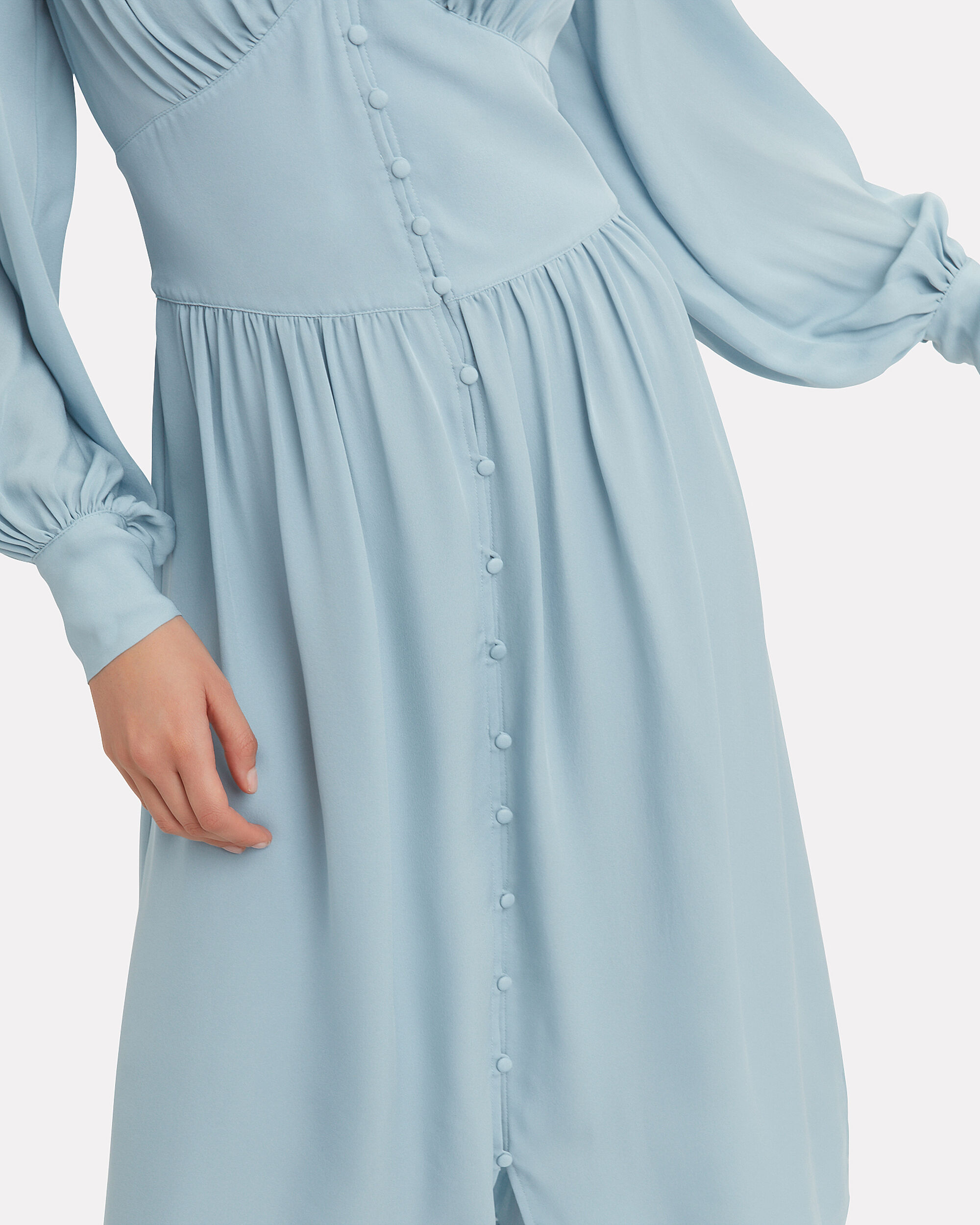 Kyria Midi Dress, LIGHT BLUE, hi-res
