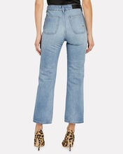 Cali High-Rise Straight-Leg Jeans, MEDIUM WASH DENIM, hi-res