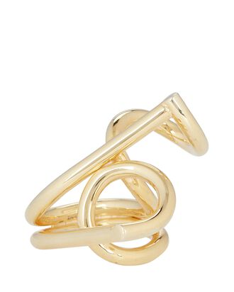 Theodora Twisted Statement Ring, GOLD, hi-res
