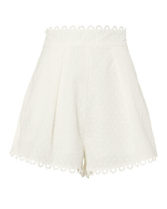 Melody High Waist Shorts, IVORY, hi-res