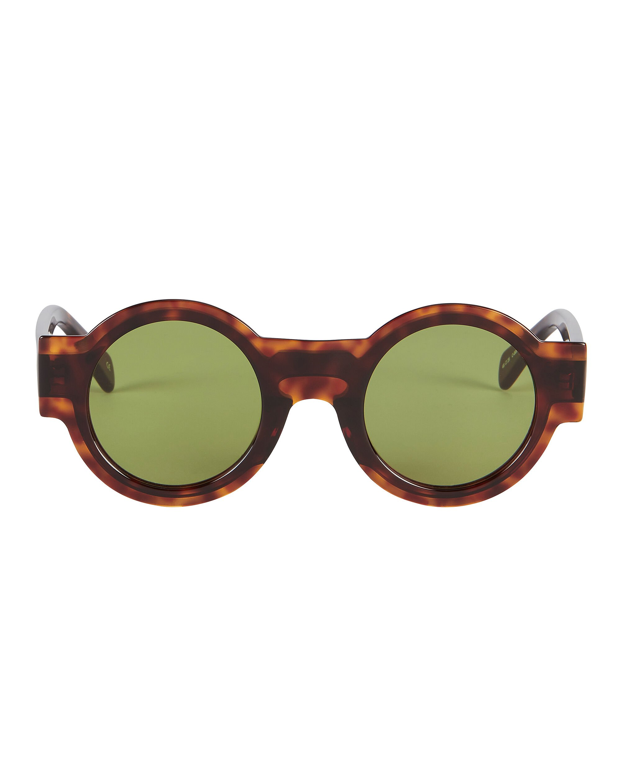 Caster Round Sunglasses, BROWN, hi-res