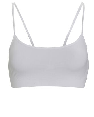 Loren Seamless Sports Bra, WHITE, hi-res