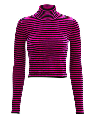 Evhanie Cropped Turtleneck, MULTI, hi-res
