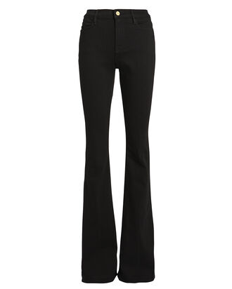 Le High Flared Jeans, BLACK, hi-res
