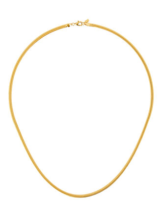 Vero Snake Chain Necklace, GOLD, hi-res