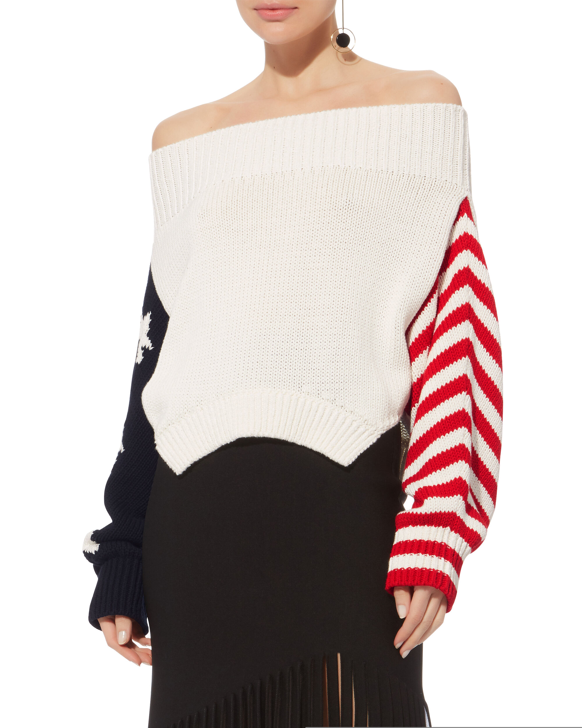 Stars And Stripes Sweater, MULTI, hi-res
