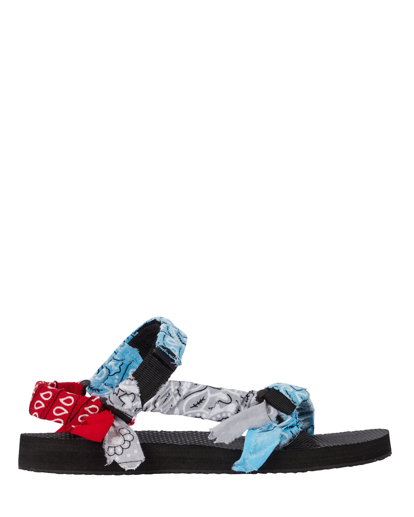 Trekky Bandana Knotted Sandals, MULTI, hi-res