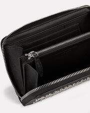 Studded Continental Clutch, BLACK, hi-res