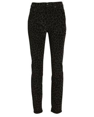 High-Rise Skinny Jeans, MIDNIGHT LEOPARD, hi-res