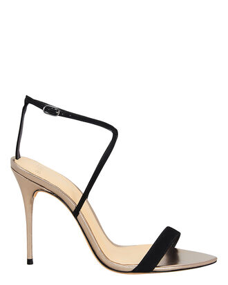 Smart Cocktail High Sandals, GOLD/BLACK, hi-res
