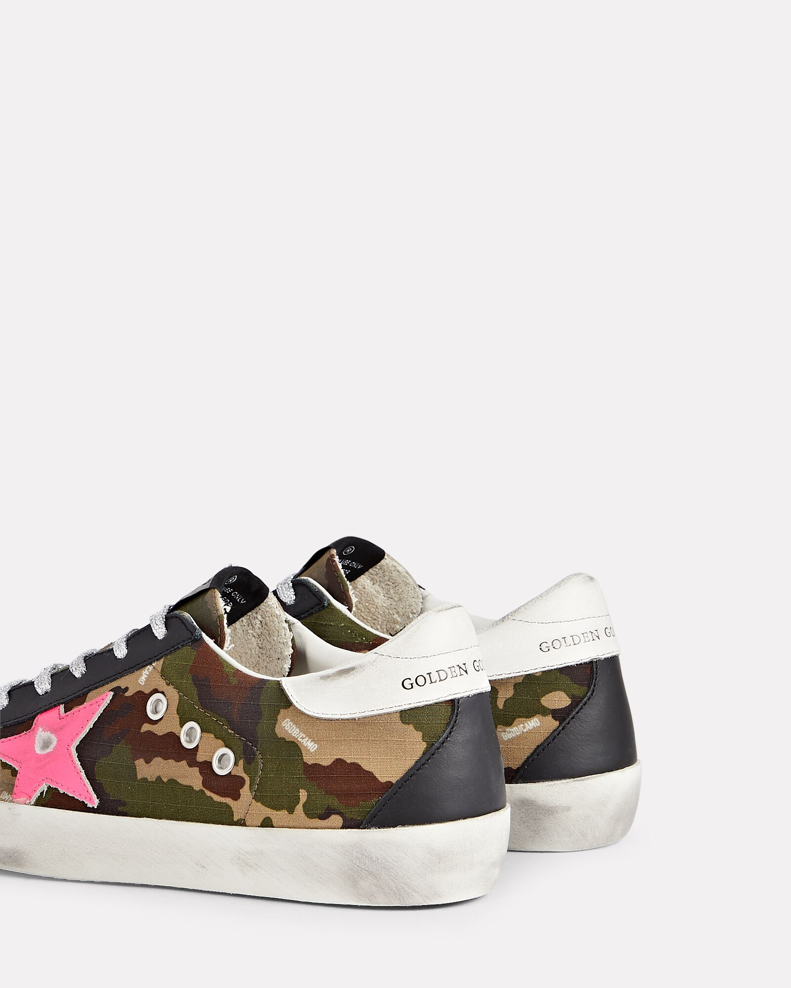 Superstar Camouflage Low-Top Sneakers, OLIVE, hi-res