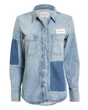 Utility Shirt, DENIM, hi-res