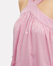 Kyle Stripe Maxi Dress, PINK/WHITE, hi-res