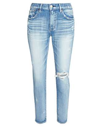 Helendale Distressed Skinny Jeans, MEDIUM WASH DENIM, hi-res