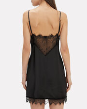 Lace Slip Dress, BLACK/LACE, hi-res
