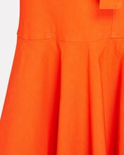Sabrina Belted Midi Dress, ORANGE, hi-res