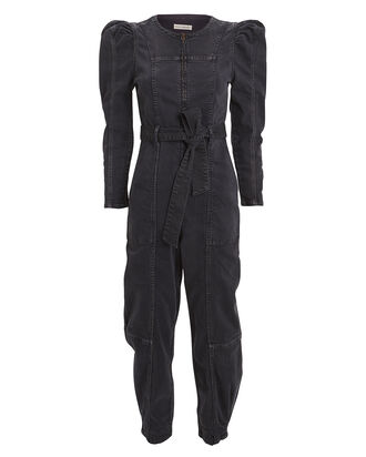 Hesper Denim Jumpsuit, CHARCOAL DENIM, hi-res