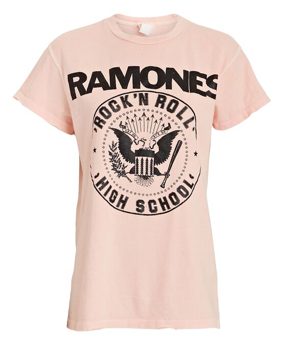 Madeworn Cottons Ramones Graphic Cotton T-Shirt