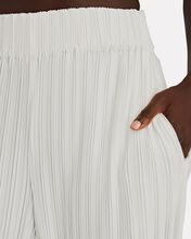 Bayley Cropped Pleat Joggers, WHITE, hi-res