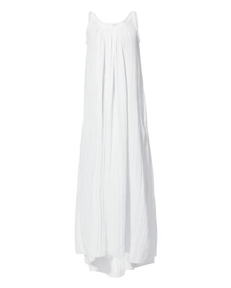 Gather Maxi Dress, WHITE, hi-res