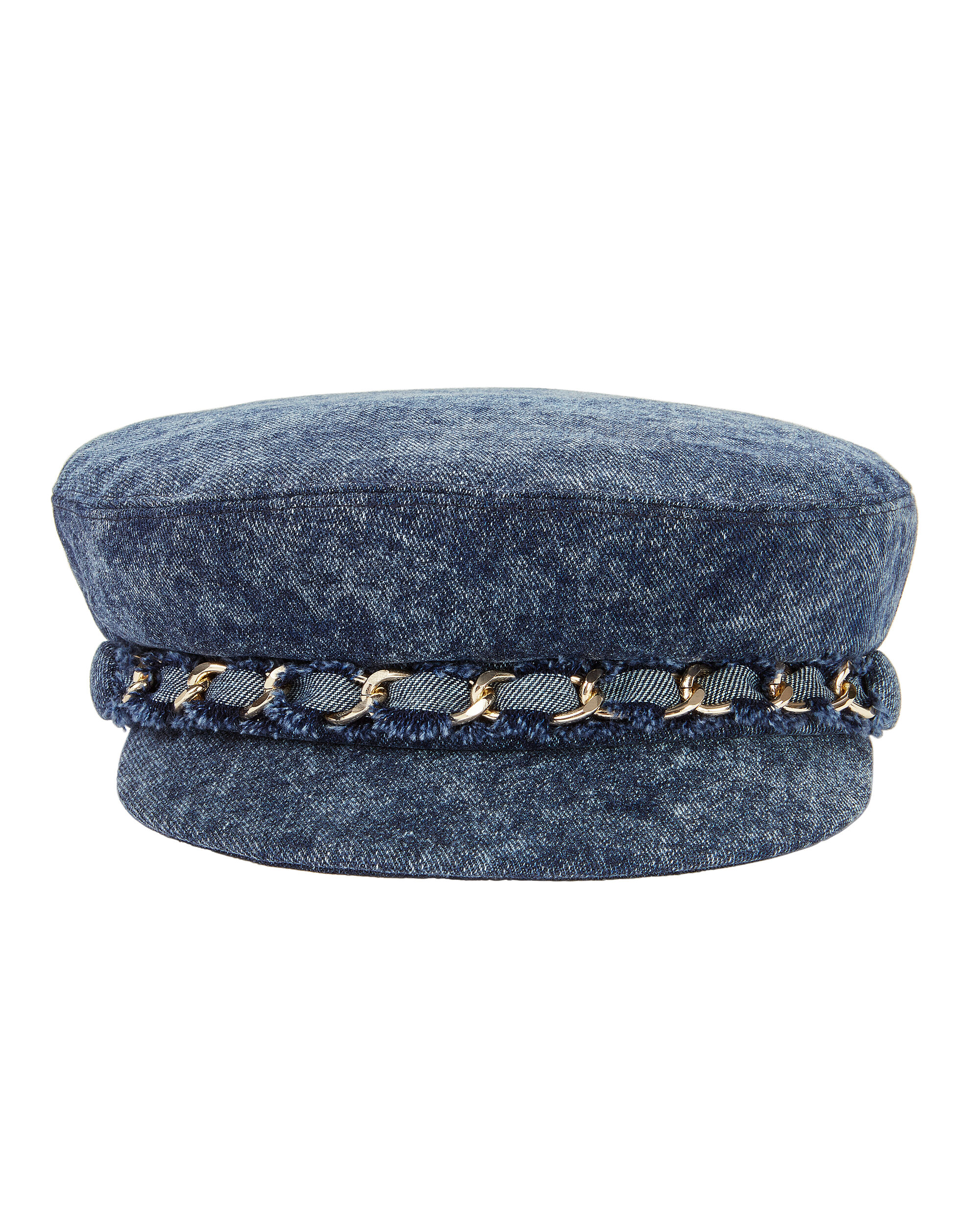 Marina Denim Newsboy Cap, DENIM, hi-res
