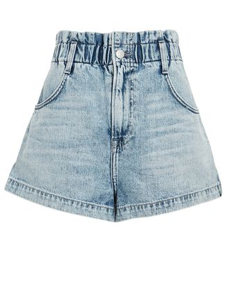 Rory High-Rise Denim Shorts, DENIM-LT, hi-res