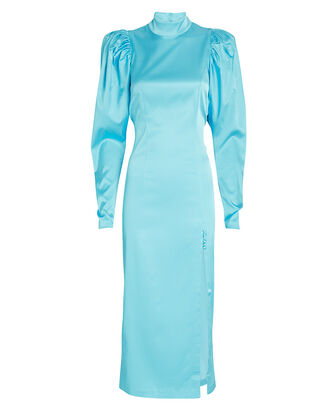 Teresa Puff Sleeve Midi Dress, , hi-res