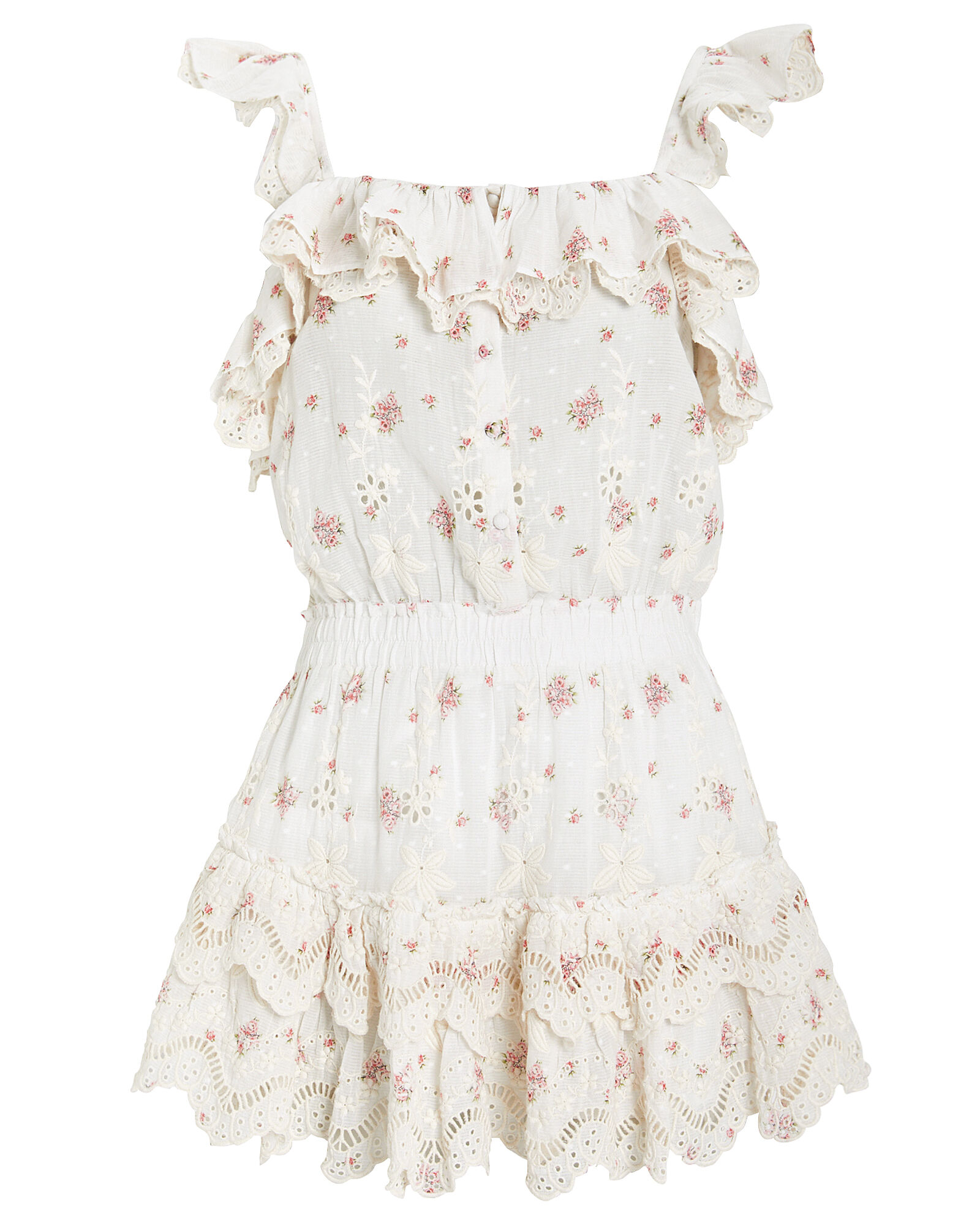 Marina Cotton Eyelet Dress, MULTI, hi-res