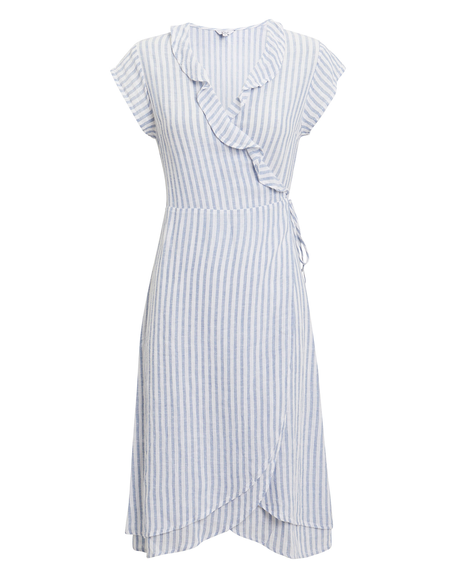 Louisa Wrap Dress, MULTI, hi-res