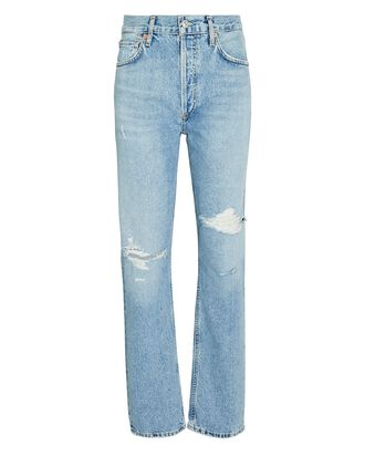 Charlotte High-Rise Straight-Leg Jeans, MOON DUST, hi-res