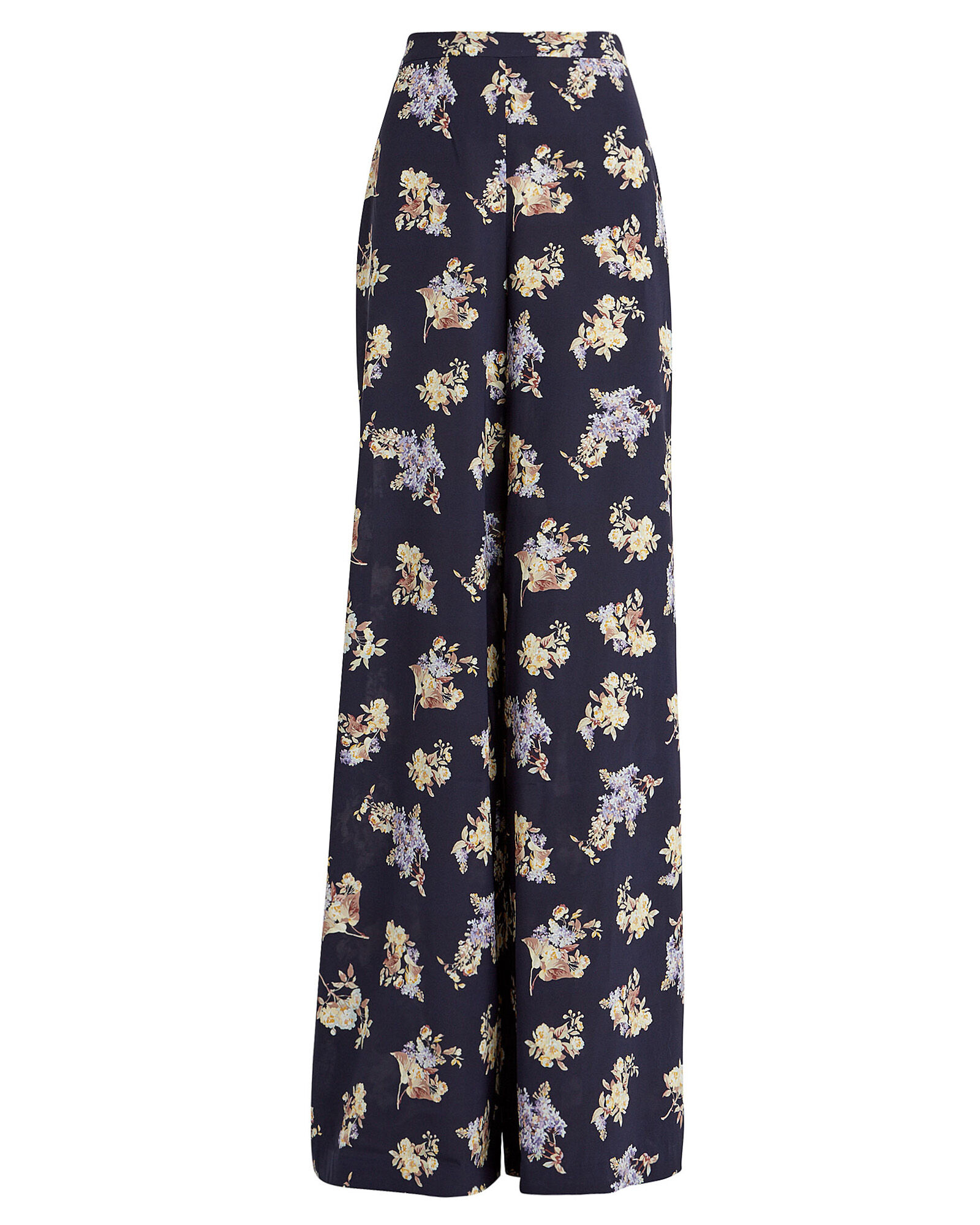 Sabotage Wide-Leg Floral Trousers, MULTI, hi-res