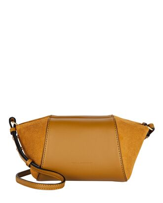 Imogen Small Soft Leather Clutch, BEIGE, hi-res