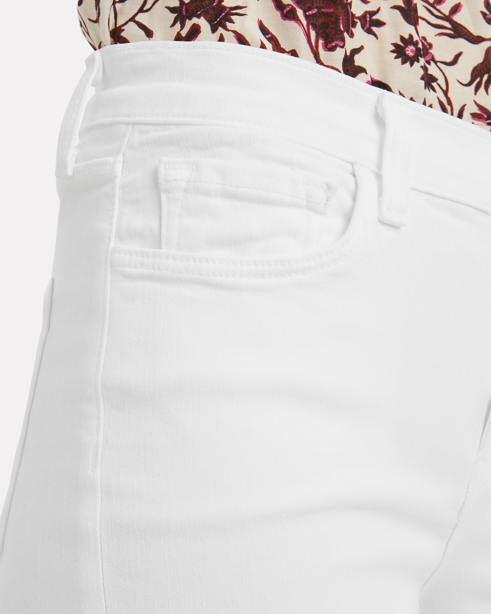 Valentina High-Rise Jeans, WHITE, hi-res