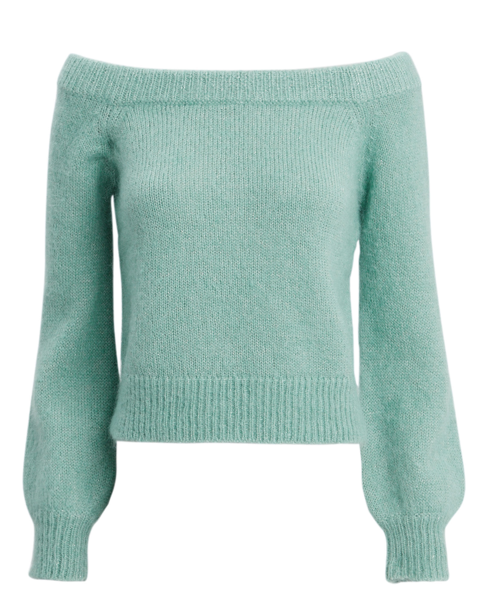 f90581fc35 Mohair Off the Shoulder Sweater